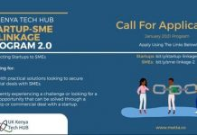 Metta/UK-KENYA TECH HUB Startup-SME Linkage Program 2.0 for tech startups