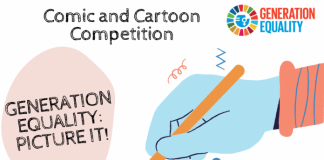 UNWomen Comic and Cartoon Competition 2021 (EUR 2000 Prize)