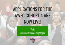 African Women Entrepreneurship Cooperative (AWEC) Programme 2021 for African female Entrepreneurs.