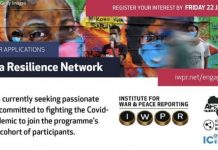 Call for Applications: Africa Resilience Network Programme 2021