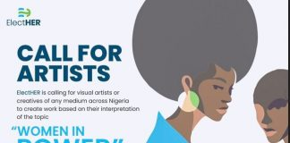 ElectHER Call for Visual Artists across Nigeria.