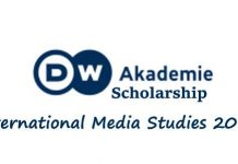 Deutsche Welle (DW) Akademie Master Degree Scholarship 2021/2022 for Journalists to study in Germany (Scholarships Available).