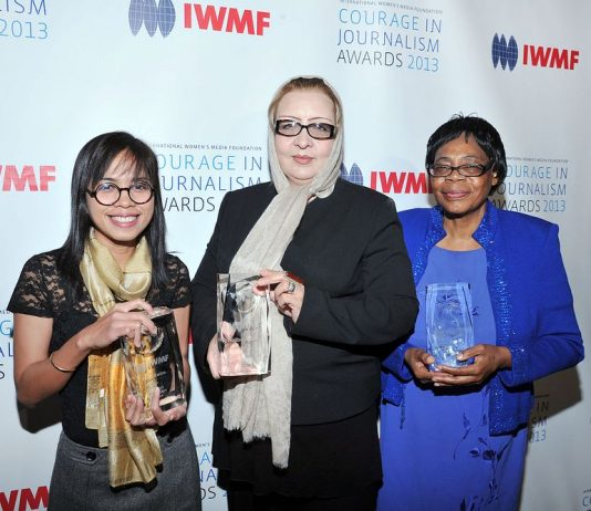 Call for Nominations: IWMF Courage in Journalism Awards 2021