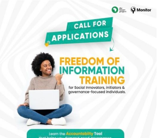 The Future Project YMonitor 2021 Freedom Information Training for young Nigerians.