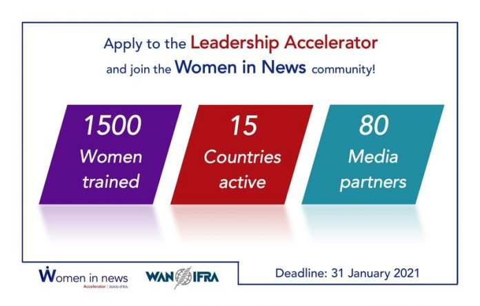 2021 WIN Africa Accelerator for women Journalists from sub-Saharan Africa
