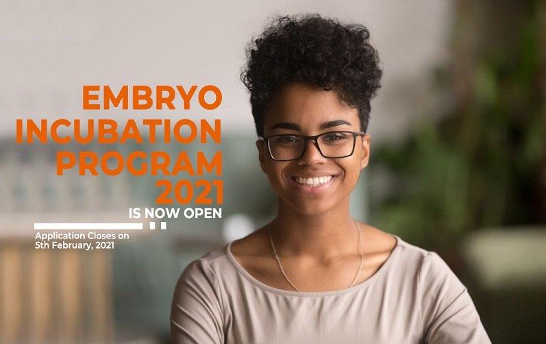 Nigeria Climate Innovation Center/AllOn Embryo Incubation Program 2021 ($10,000 Grant)