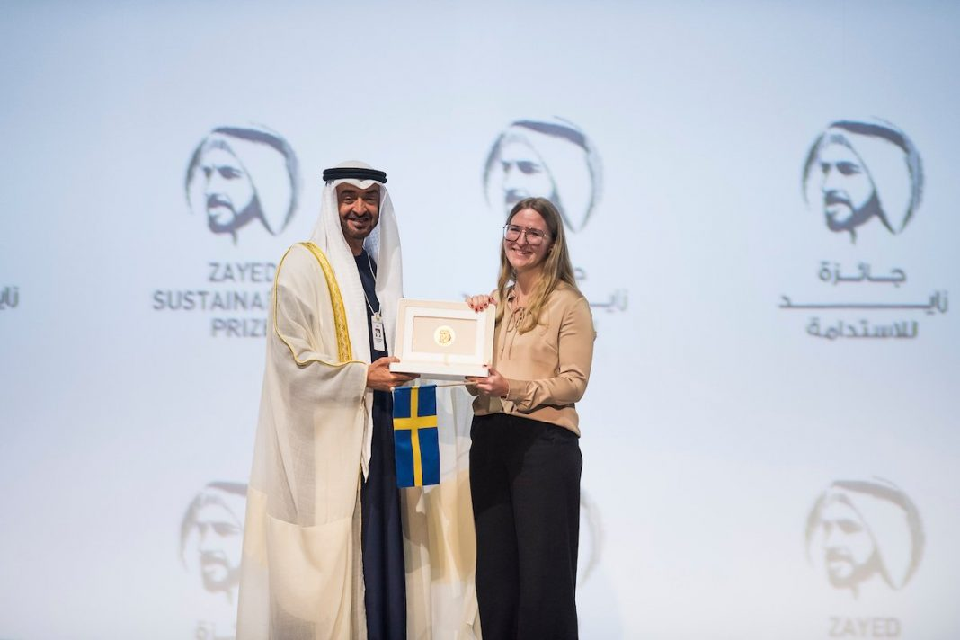 Zayed Sustainability Prize 2022 for Global Sustainability Pioneers (US$3 million in Prizes)