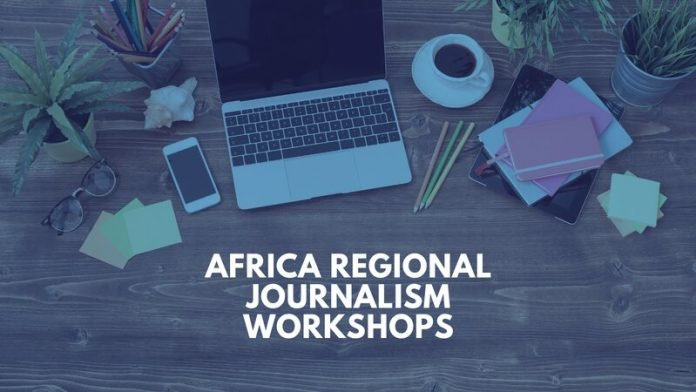 ICFJ Africa Regional Journalism Workshops 2021 for African Journalists.