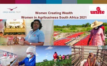 Women Creating Wealth (WCW) Programme 2021 – Women in Agribusiness South Africa.