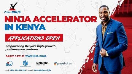 Next Innovation with Japan (NINJA) Accelerator Program 2021 for young Kenyan Entrepreneurs.