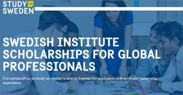 Swedish Institute Scholarships for Global Professionals (SISGP) 2021/2022 for Master's Level Studies in Sweden (Fully Funded)