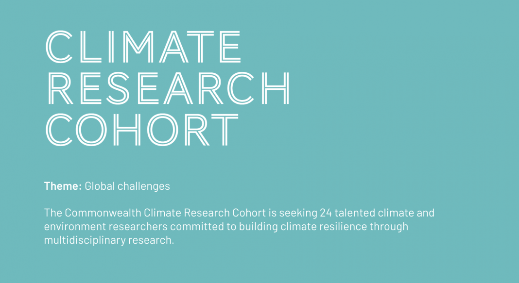 Commonwealth Climate Research Cohort 2021 for Emerging Research Leaders (Fully-funded to COP26 in Glasgow)