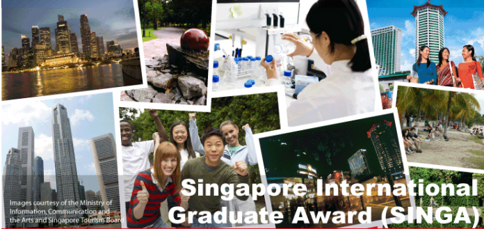 Singapore International Graduate Award 2021/2022 Scholarships for PhD study in Singapore (Fully Funded)