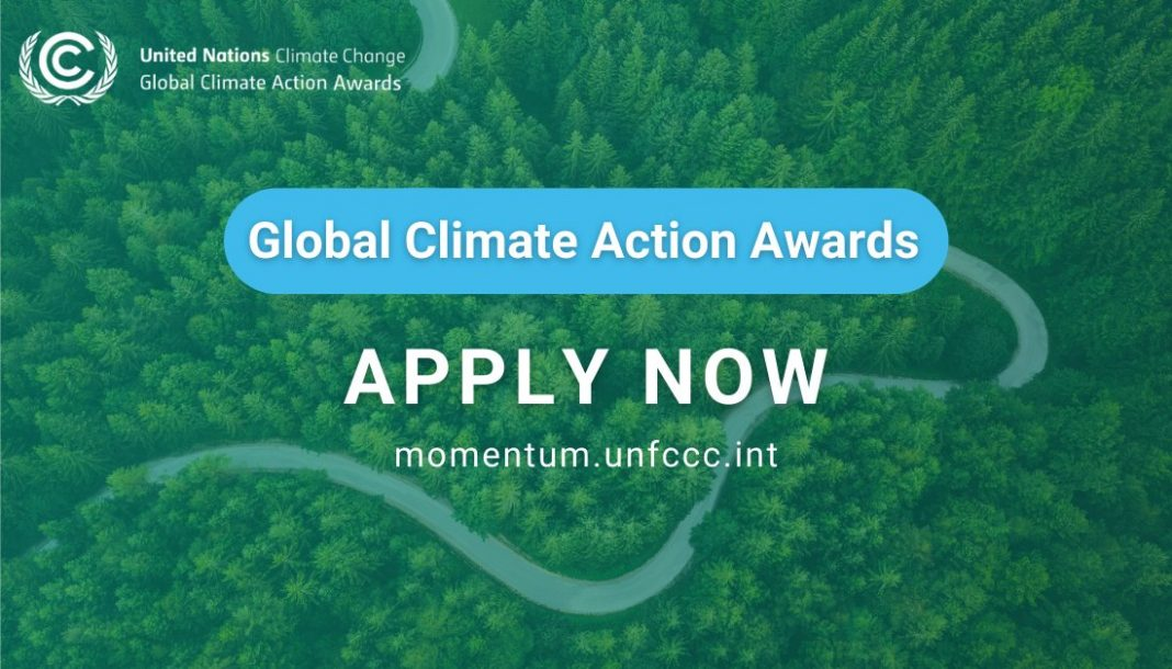 UN Global Climate Action Award 2021 (Win trip to COP 26 in Glasgow, Scotland)