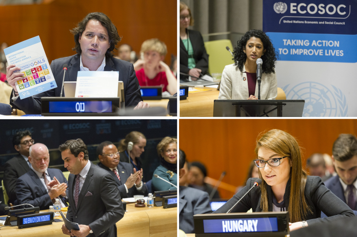 Apply to attend the UN Economic and Social Council (ECOSOC) Youth Forum 2021