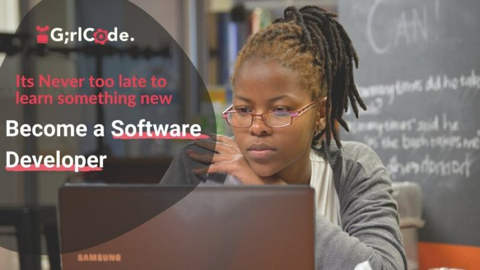 GirlCode 12 month Software Development Engineer Learnership 2021 for unemployed women.