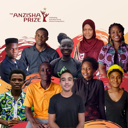 Anzisha Prize Fellowship Program 2021 for young African Entrepreneurs (USD $100,000 Prize & all-expenses-paid trip to South Africa)