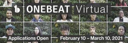 OneBeat Virtual Fellowship Program 2021 for emerging musical leaders