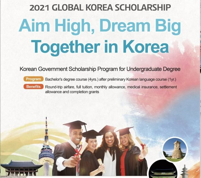 Global Korea Scholarship (GKS) 2021/2022 for study in the Republic of Korea (Fully Funded)