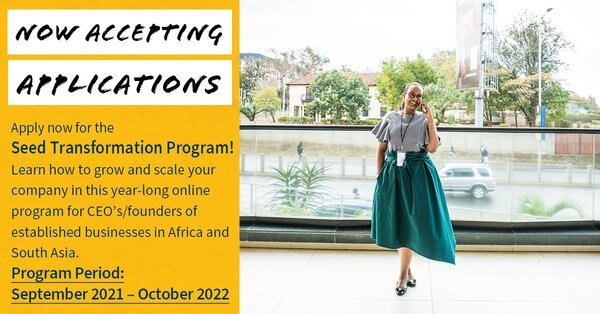Stanford Seed Transformation Program 2021 for High-Potential CEOs/Founders in Africa. (Financial Aid Available)
