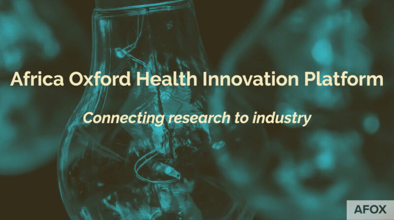 Africa Oxford Health Innovation Platform (AfOx-HIP) 2021 for African Innovators