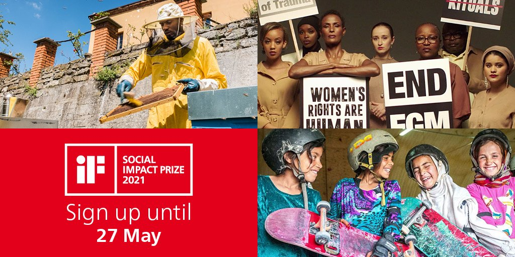 Apply for the iF Social Impact Prize 2021 (EUR 100,000)