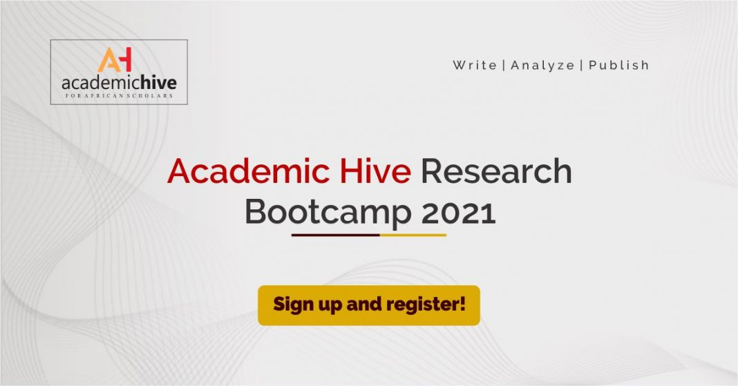 Academic Hive Research Bootcamp 2.0 – March 2021 (Win a $100 publishing grant)