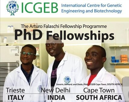 ICGEB Arturo Falaschi Fellowship Programmes 2021/2022 for Scientists in Developing Countries.