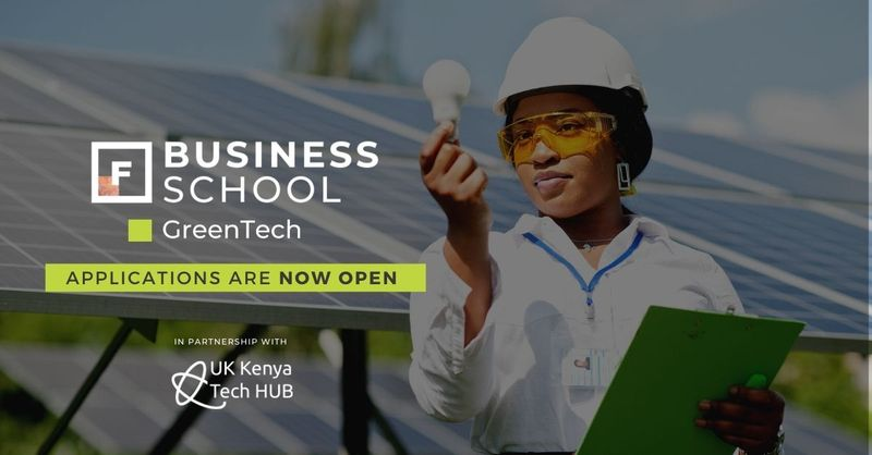 Future Females Business School Greentech Programme 2021 for Female Kenyan Entrepreneurs