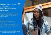 Microsoft East & West Africa Women Entrepreneurs Virtual Apprenticeship Programme 2021