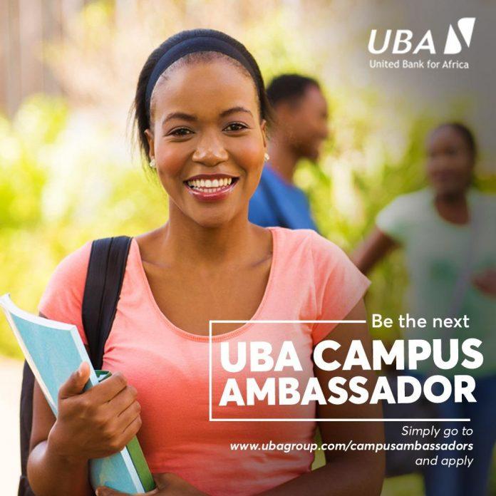 UBA NextGen Campus Ambassador Programme 2021 for students of tertiary institutions in Nigeria.