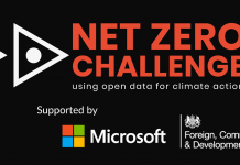 Net Zero Challenge 2021 for Projects Advancing Climate Action Using Open Data