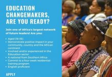YALI-RLC SA/Trevor Noah Foundation Education Change Makers Programme 2021 (Cohort 2) for young Southern Africans (Fully Funded)