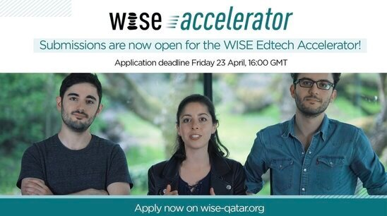 WISE Edtech Accelerator Programme 2021 for Education Technology Projects.