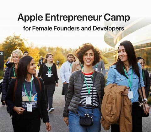 Apple Entrepreneur Camp 2021 for Female Founders and Developers.