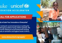 Duke-UNICEF Innovation Accelerator 2021 for Social Enterprises in Africa ($25,000 grant)