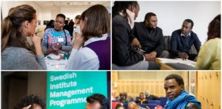 Swedish Institute Management Programme (SIMP) Africa 2021 for emerging young African Leaders.