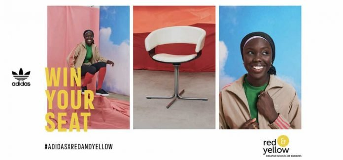 Adidas X Red & Yellow Creative Business School Bursary 2021 for young South Africans.