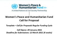 The Women's Peace & Humanitarian Fund: Call for Proposals in Nigeria