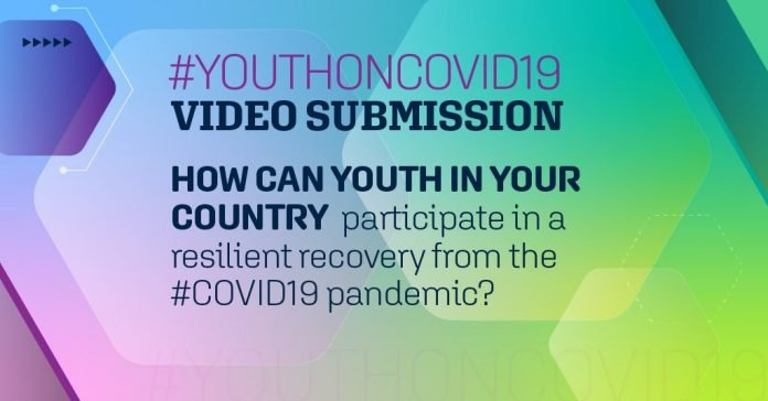 World Bank Group #YouthOnCOVID19: Video Submission for young People worldwide.