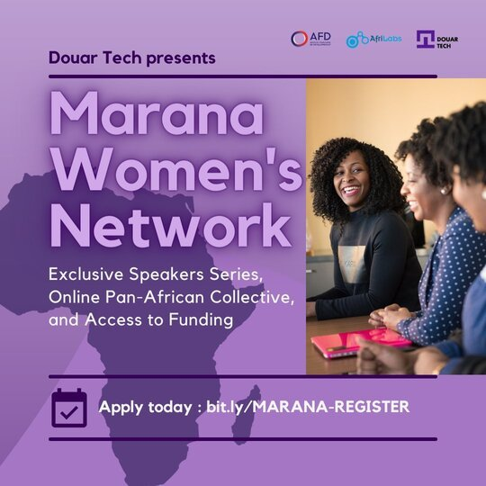 Marana Women's Network Digital Expert Talks 2021 for African Women Entrepreneurs