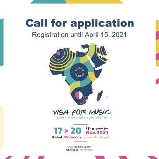 Visa For Music (VFM) Africa 2021 Showcases for music Artists – Rabat, Morocco