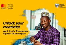 Young Africa Works-Mastercard Foundation/EDC Transforming Nigerian Youths Program 2021 for young Nigerians