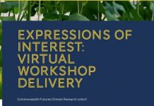 2021 ACU Commonwealth Futures Climate Research Cohort: Expressions of interest on Virtual Workshop Delivery.