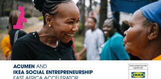 Acumen/IKEA Social Entrepreneurship East Africa Accelerator 2021