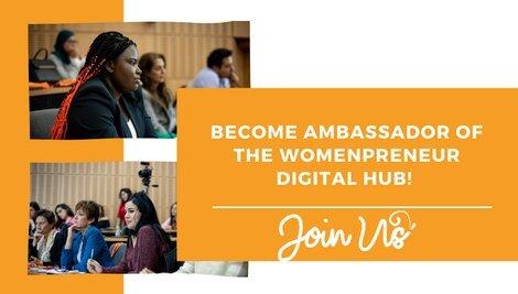 Call for Ambassadors: Womenpreneur Digital Hub 2021 for Women in MENA Region