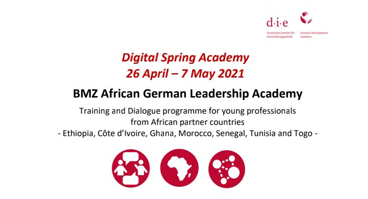 BMZ African German Leadership Academy 2021 for Young Professionals