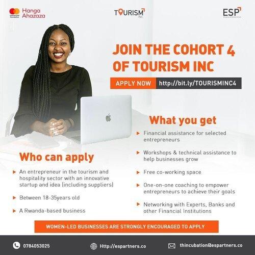ESP Partners (ESP) Tourism Inc incubator 2021 for tourism and hospitality businesses in Rwanda