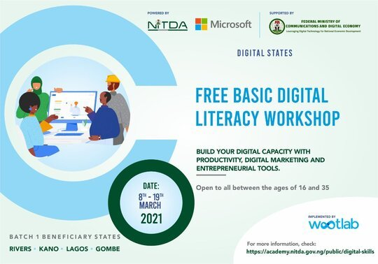 The Digital States Program 2021 for young Nigerians.