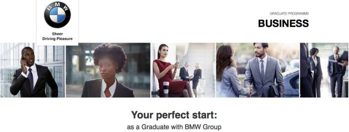 The BMW SA student Programme 2021 for young South African graduates.